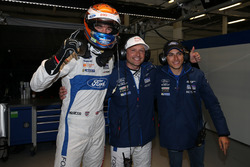 Pole GTE-Pro for #67 Ford Chip Ganassi Racing Ford GT: Harry Tincknell, Andy Priaulx, Pipo Derani