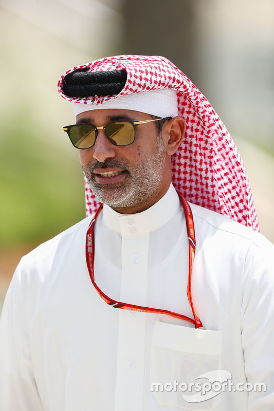 Shaikh Salman bin Isa Al Khalifa, CEO, Bahrain International Circuit