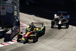 Daniel Abt, ABT Schaeffler Audi Sport, leads Jérôme d'Ambrosio, Dragon Racing