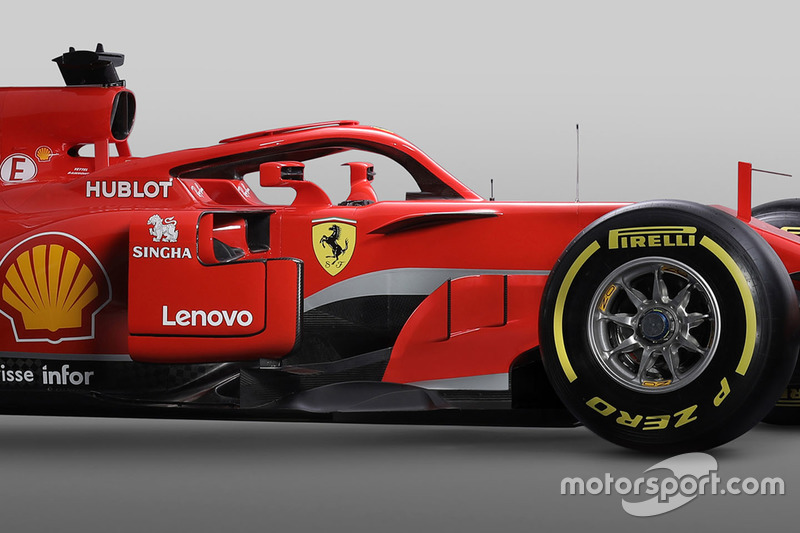 Ferrari SF71H, Halo