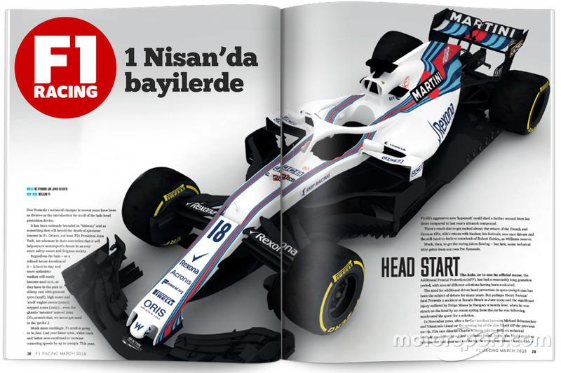 F1 Racing Türkiye Nisan 2018