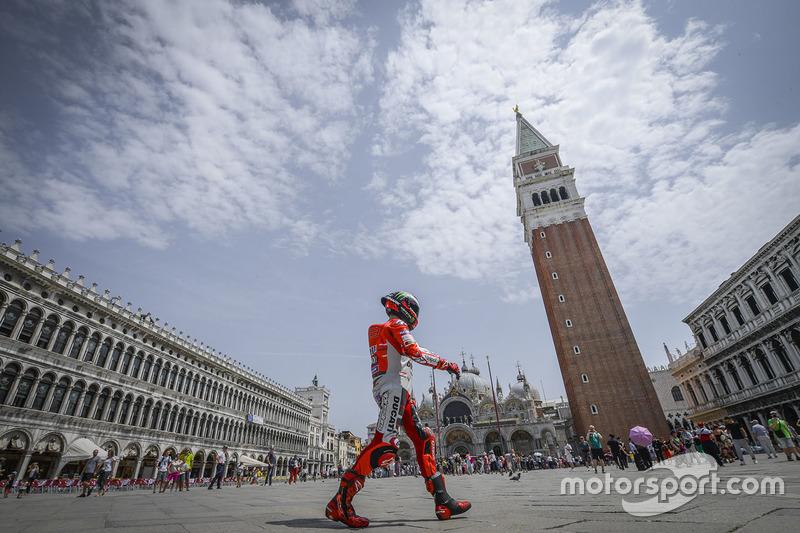 Jorge Lorenzo, Ducati Team evento en Venecia