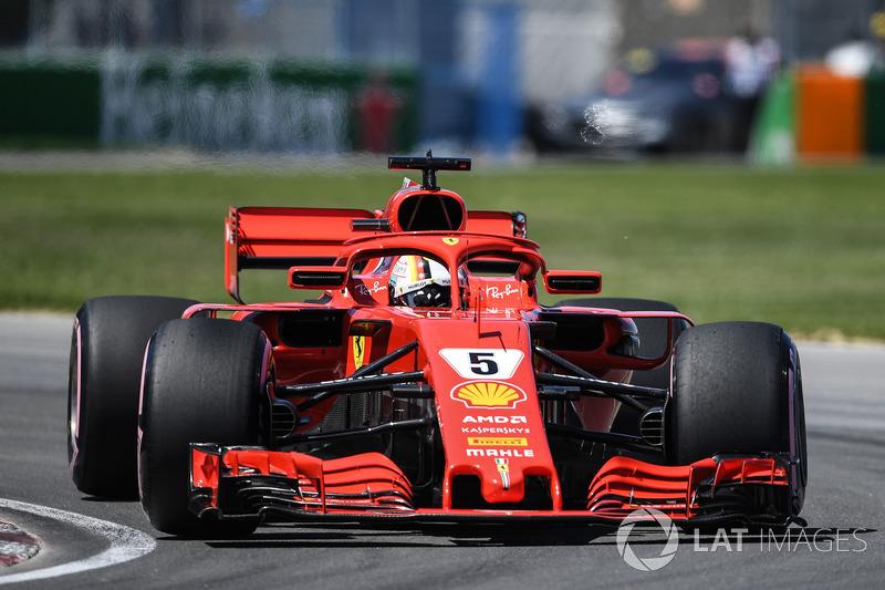 1. Себастьян Феттель, Ferrari SF71H
