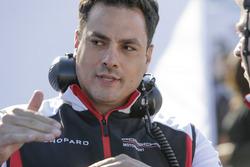 Stephen Mitas, technisch projectleider Porsche Team