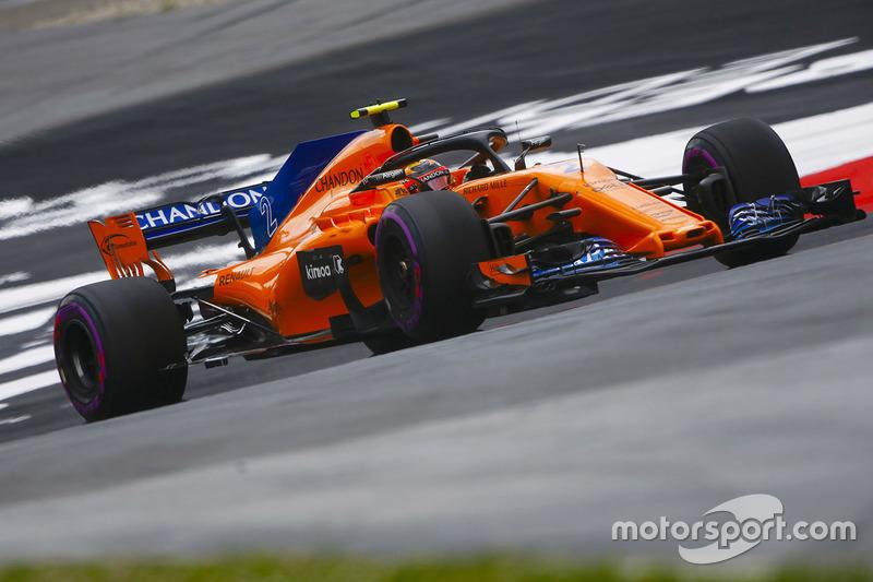 Ausfall: Stoffel Vandoorne, McLaren MCL33