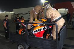 دراجة مارك ماركيز، ريبسول هوندا بعد الحادث