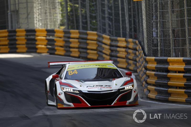 Ренгер ван дер Занде, Honda Motor, Honda NSX GT3
