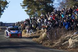 Thierry Neuville, Nicolas Gilsoul, Andreas Mikkelsen, Hyundai Motorsport