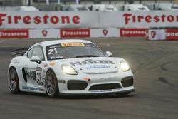 #21 Muehlner Motorsports America Porsche Cayman GT4 Clubsport MR: Gabriele Piana