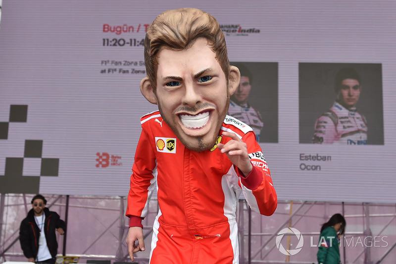 Guiñol de Sebastian Vettel, Ferrari