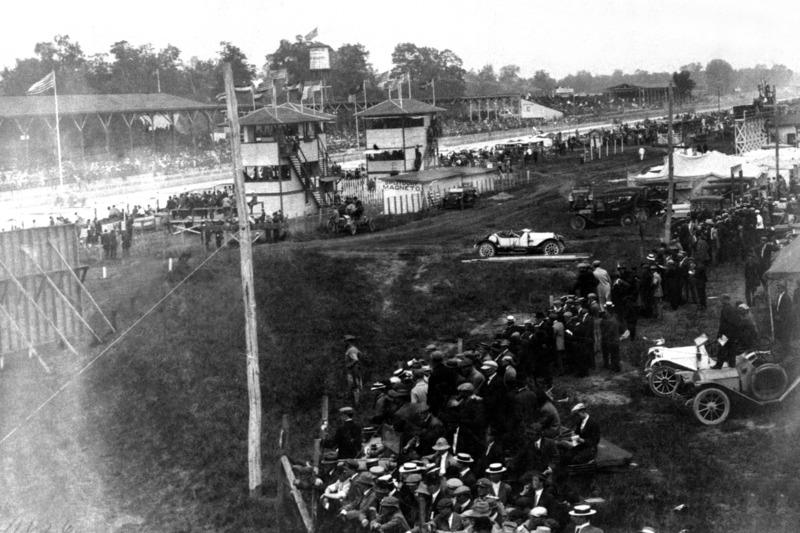 1911: Het historische infield