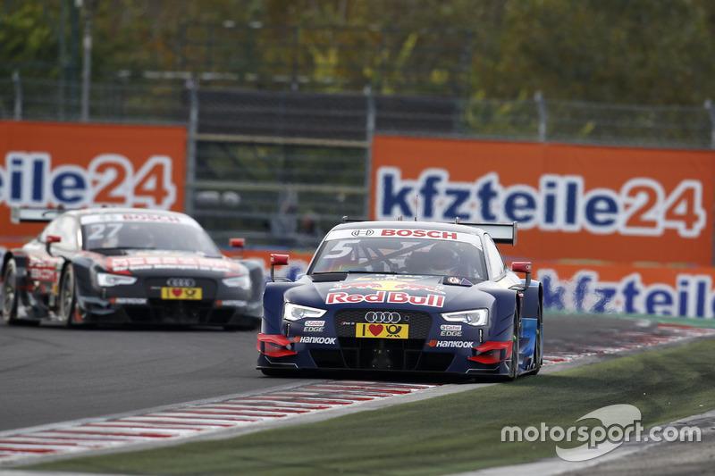 Ekström gewinnt vor Audi-Kollege Adrien Tambay