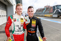 Mick Schumacher, Prema Powerteam, and Joseph Mawson, Van Amersfoort Racing