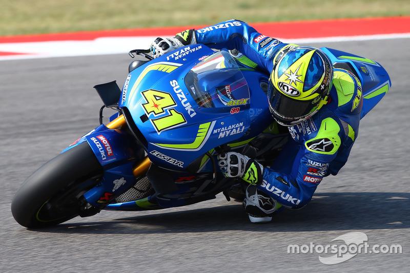 9. Aleix Espargaro, Team Suzuki Ecstar MotoGP