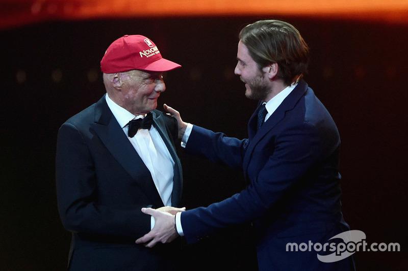 Niki Lauda, Mercedes Non-Executive Chairman receives lifetime achievement award