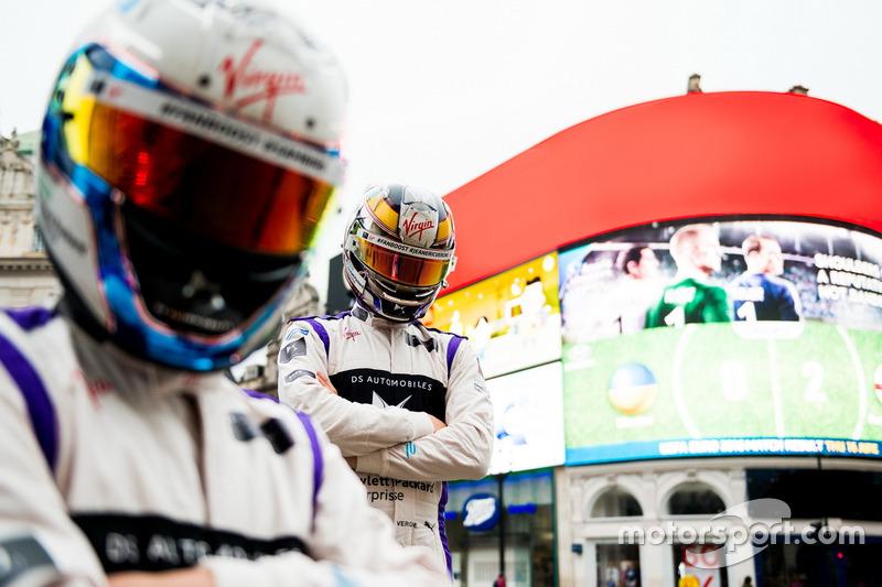 Sam Bird, DS Virgin Racing am Marble Arch