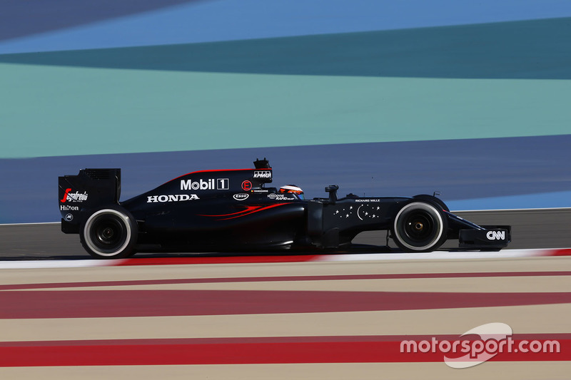 Стоффель Вандорн – Гран При Бахрейна, 2016 год – 10 место