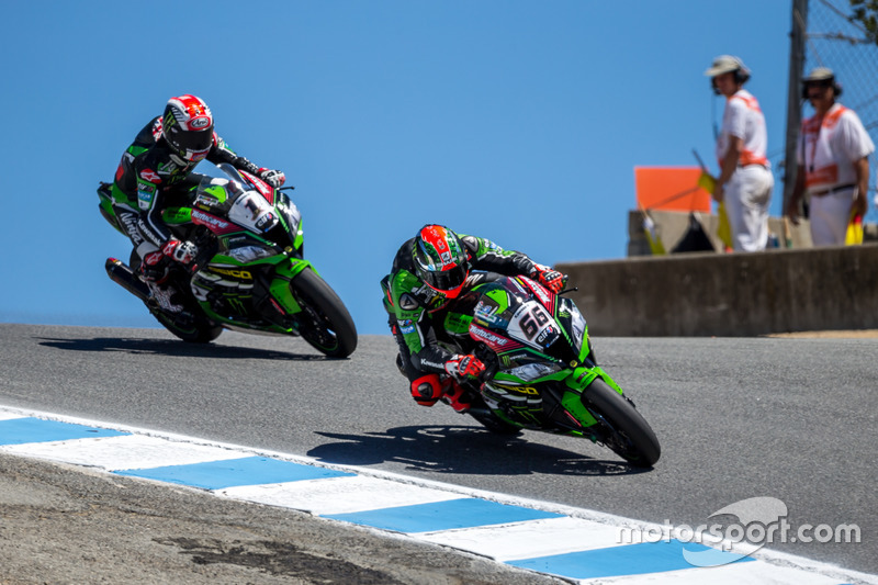Tom Sykes, Kawasaki Racing Team, Jonathan Rea, Kawasaki Racing Team