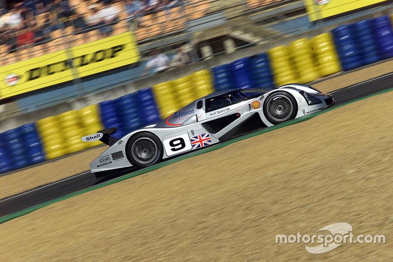 #9 Audi Sport UK, Audi R8C: Stefan Johansson, Stテゥphane Ortelli, Christian Abt