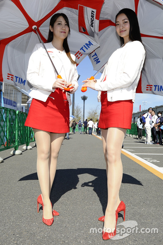 Lovely Ducati Corse girls
