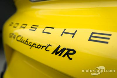 Presentatie Porsche Cayman GT4 Clubsport Manthey Racing