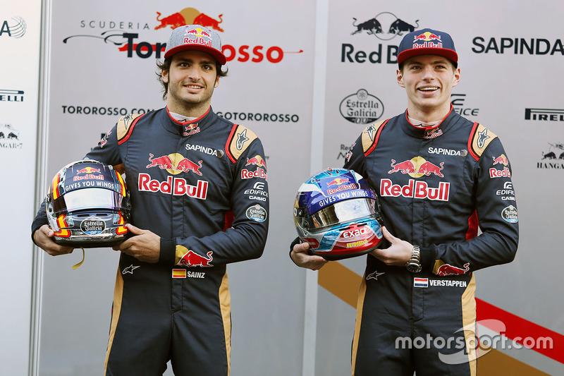 Carlos Sainz jr. en Max Verstappen zijn er klaar voor