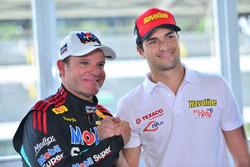Rubens Barrichello e Nelsinho Piquet