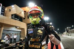 2017 champion Pietro Fittipaldi, Lotus, celebrates
