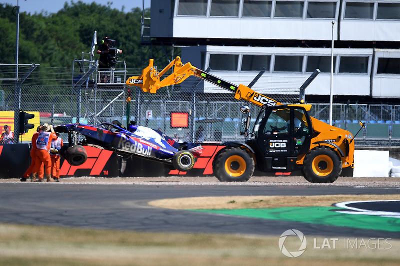 18º Brendon Hartley, Scuderia Toro Rosso STR13 (456 vueltas)