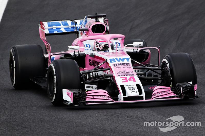 2018 : Force India VJM11-Mercedes