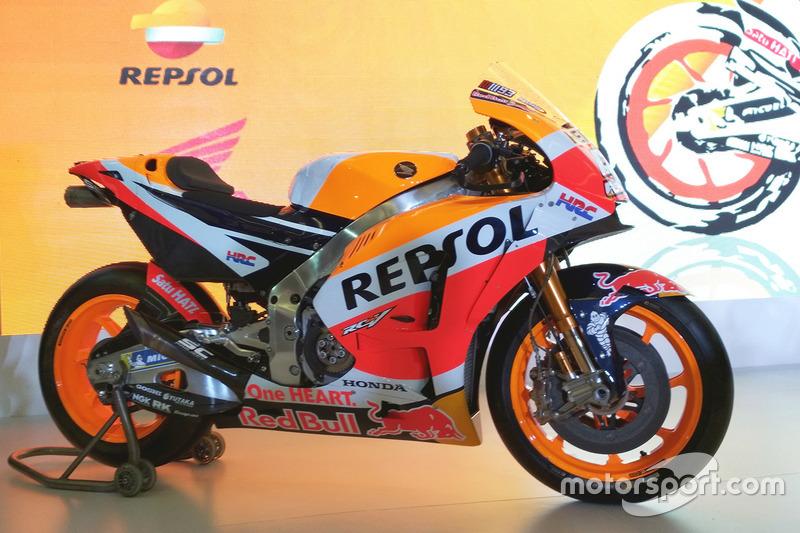Байк Марка Маркеса, Repsol Honda Team