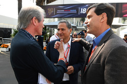 David Tremayne, Journalist with Alejandro Soberon, President and CEO for CIE Group and President of Formula 1 Gran Premio de Mexico