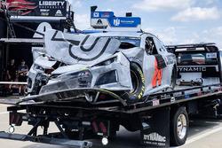 L'auto incidentata di William Byron, Hendrick Motorsports, Chevrolet Camaro