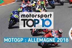 Le top 10 du GP d'Allemagne