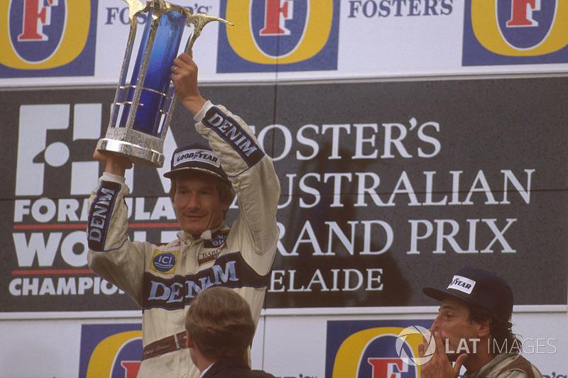 1989 (Аделаїда). Подіум: 1. Тьєррі Бутсен, Williams. 2. Алессандро Нанніні, Benetton. 3. Рікардо Патрезе, Williams