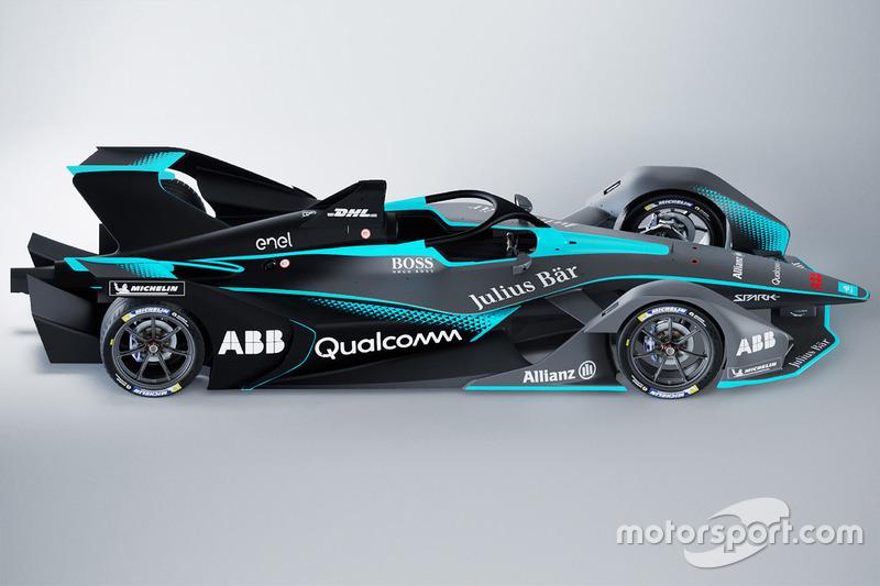 Coche de Fórmula E 2018/2019
