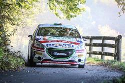 Tommaso Ciuffi, Nicolo Gonella, Peugeot 208 R2B, Jolly Racing Team