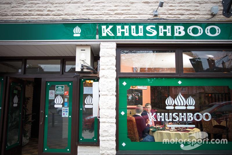 زيارة أوتمار زافناوير لمطعم كوشبو