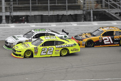 Paul Menard, Team Penske, Ford Mustang Menards/Richmond, Kevin Harvick, Biagi-DenBeste Racing, Ford