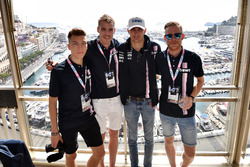Esteban Ocon, Force India F1 and guests