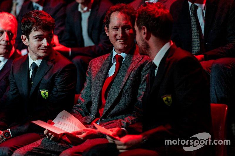 Charles Leclerc, Ferrari, Sebastian Vettel, Ferrari