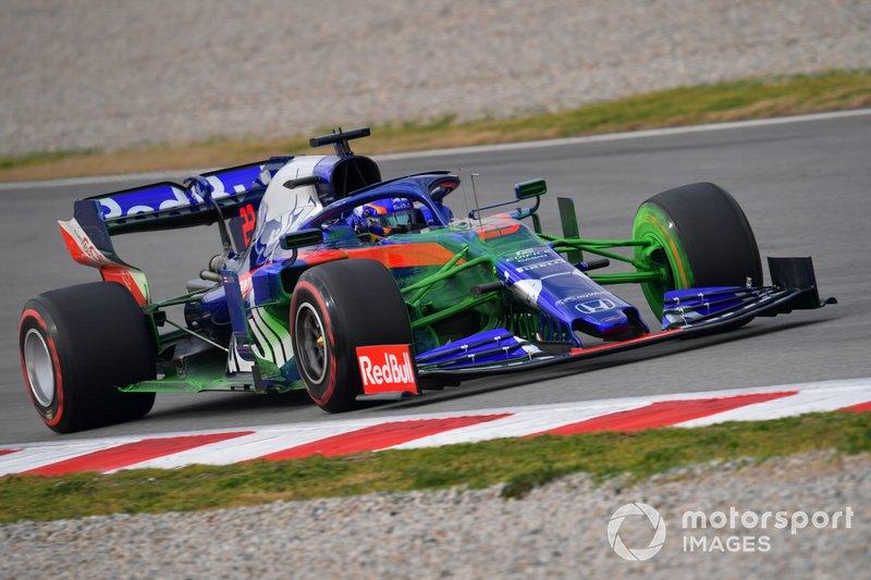 Scuderia Toro Rosso STR14 con parafina
