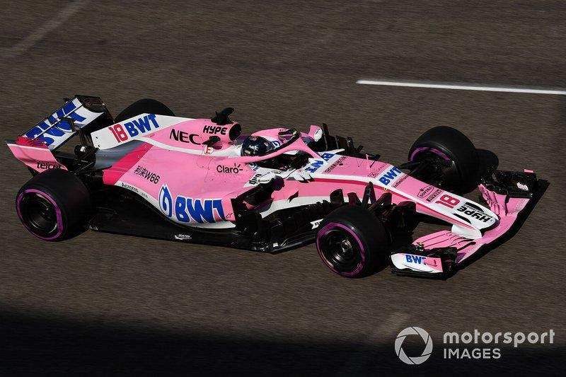 2018: Force India VJM11