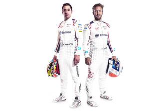 Robin Frijns, Sam Bird, Virgin Racing