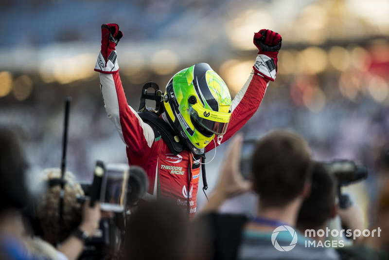 Champion 2018, Mick Schumacher, PREMA Theodore Racing Dallara F317 - Mercedes-Benz