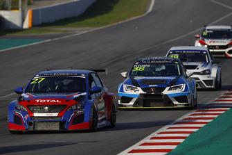 Enrique Hernando, Sports & You Peugeot 308 TCR, Danny Kroes, PCR Sport Cupra TCR