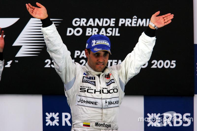 2005: Última victoria de Juan Pablo Montoya en F1