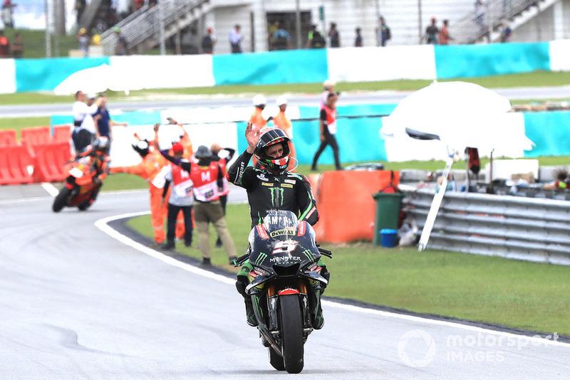 Finis ketiga, Johann Zarco, Monster Yamaha Tech 3