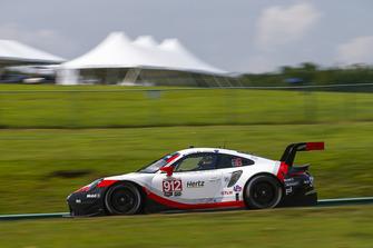 #912 Porsche Team North America Porsche 911 RSR, GTLM - Laurens Vanthoor, Earl Bamber