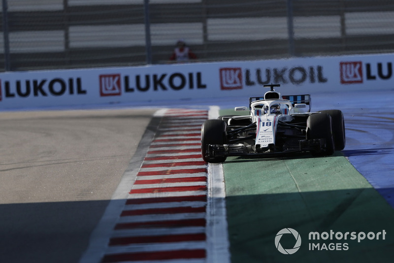 14: Ленс Стролл, Williams FW41, 1'36.437